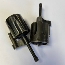 S&W Pre-numbered .38 cylinder assembly with smaller ejector rod head, 1905 4th change, 1915-1942, #241,704 - #1,000,000 #155-K6-1B
