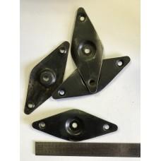 Mossberg .22 escutcheon plate  #435-1262