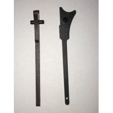 H&R .22 revolver steel mainspring rod, replaces rod with broken plastic piece  #678-922-308