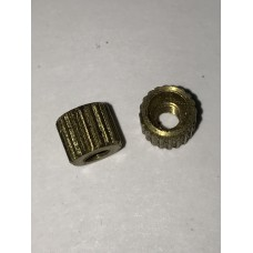 Colt New Army & New Navy .38 & .41 double action revolver grip nut, threaded  #3-36