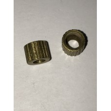 Colt New Army & New Navy .38 & .41 double action revolver grip nut, unthreaded  #3-36.1