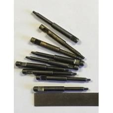 """Webley .32 firing pin, takes 1-1/2"""" spring  #134-7-1"""