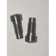S&W old model N frame plate screw crowned, stainless  #7017