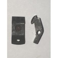 S&W Safety Hammerless .32 barrel catch, 1st model  #284-14 type 1