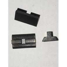 H&R model 949, etc. rear sight blade (dovetail type)  #678-949-215