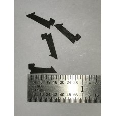 High Standard A101, A series, Higgins 25 .22 semi-auto rifle extractor, right  #282-25271